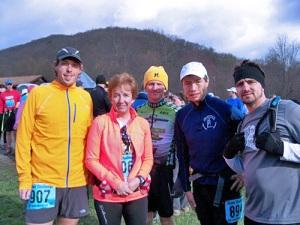 Left to Right - Adam McGinnis, Sandy Evans, Joel Noal, me, Gary Frisco